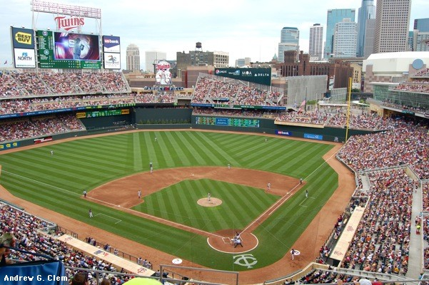 The MLB Launching Pad for the 2014 HR Derby is Target Field in Minnesota.