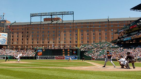 Camden Yards will see home games in the ALCS for the 1st ga
